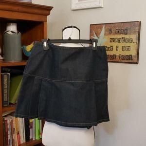 DKNY Blue Jean Skirt Size 10